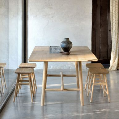 Ethnicraft Oak Profile Dining Tables