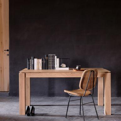 Ethnicraft Slice oak extending dining tables