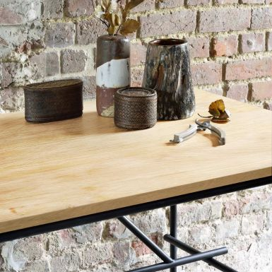 Ethnicraft Oscar Oak desks