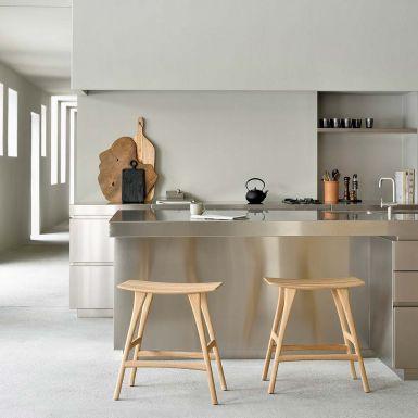 Ethnicraft Oak Osso counter stool