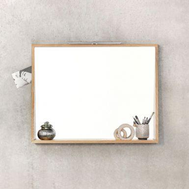 Oak Qualitime wall mirror