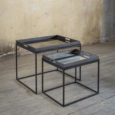 Notre Monde Rectangle Tray Table Set
