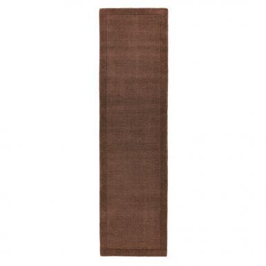 Shire runner rug - Chocolate