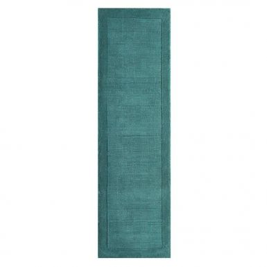 Shire runner rug - Teal