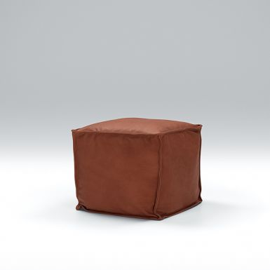 Slouch footstool 45 x 45cm