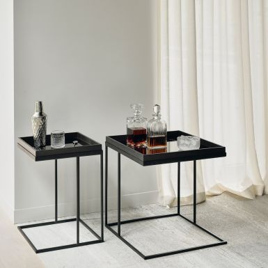 Ethnicraft Square tray side table