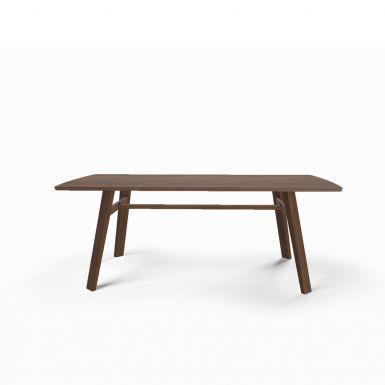 Tate walnut dining table