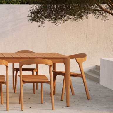 Teak Bok Outdoor dining tables