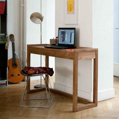 Ethnicraft Teak Frame PC desk - 2 drawers - 120cm