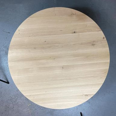 Ex display Oak Tripod coffee table (240387)