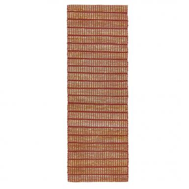 Tulsa runner rug - Red