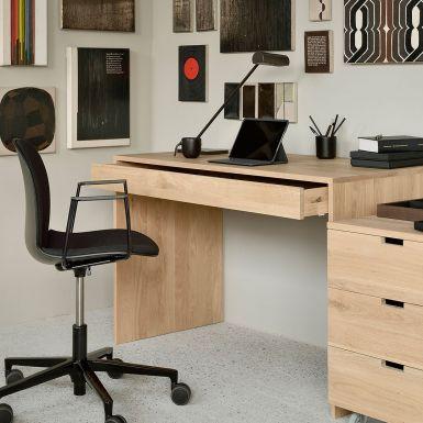 Ethnicraft Oak Wave desk