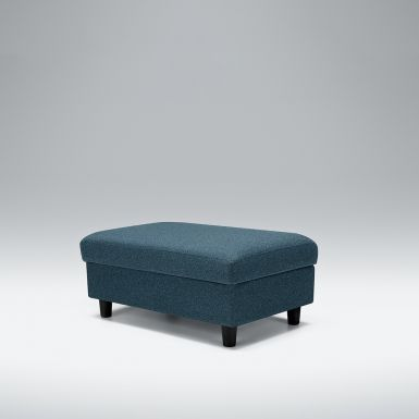 Wells footstool with storage box - Medium