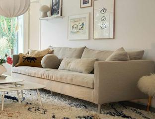 Lasa deep seat sofa