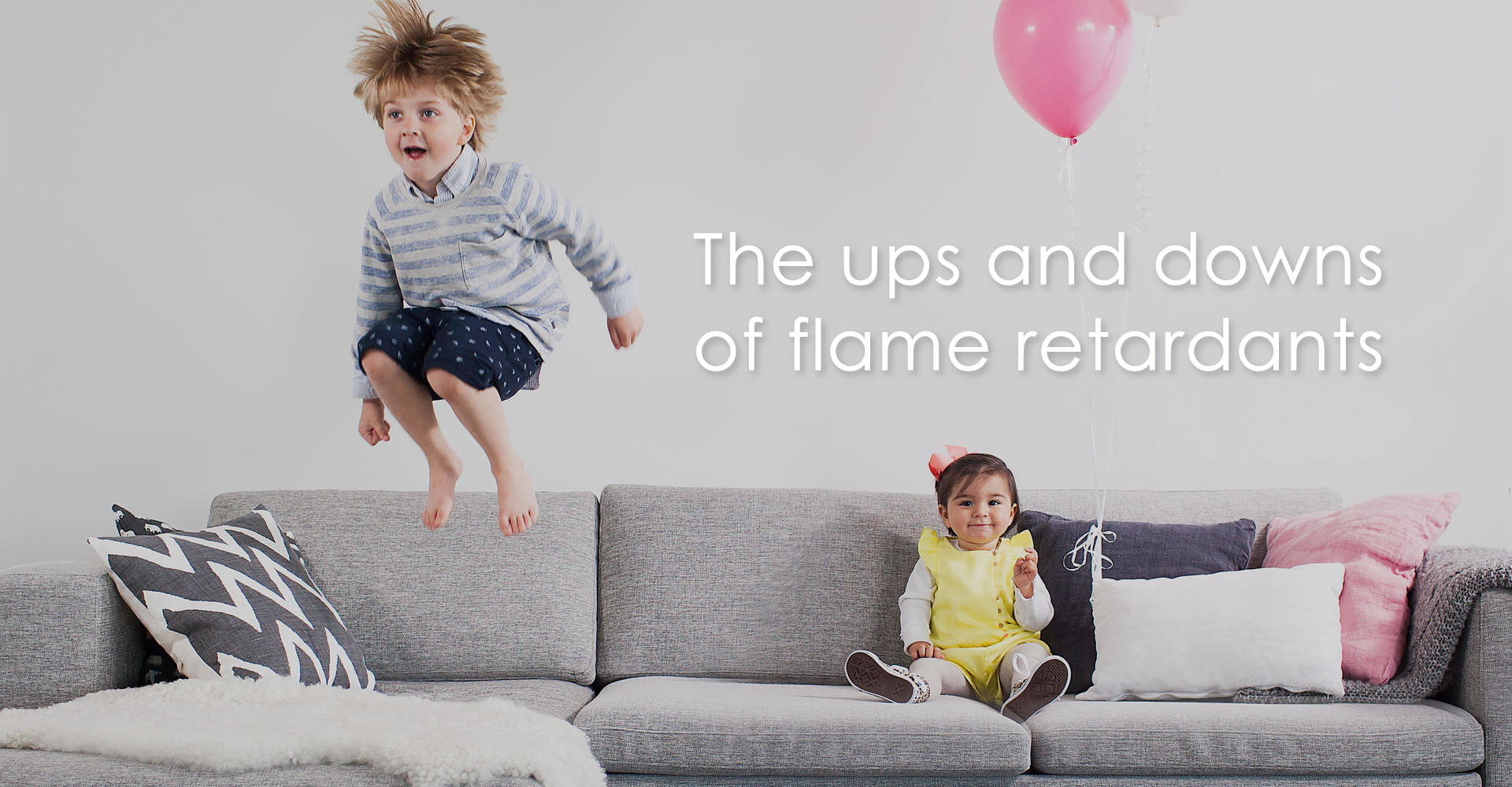 The ups and downs of flame retardants