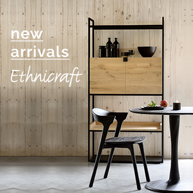 New Ethnicraft pieces added! Solid wood pieces made to last...