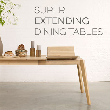 View our extending dining tables
