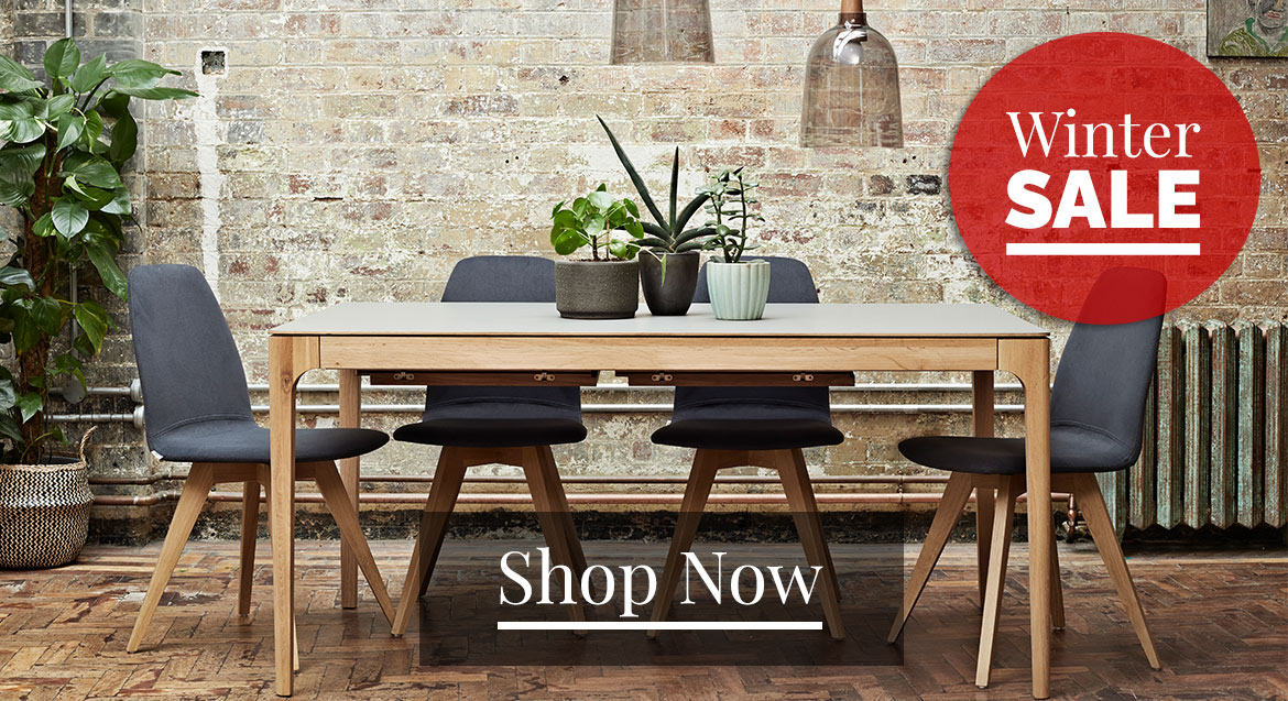 Adventures in Furniture's modern dining tables