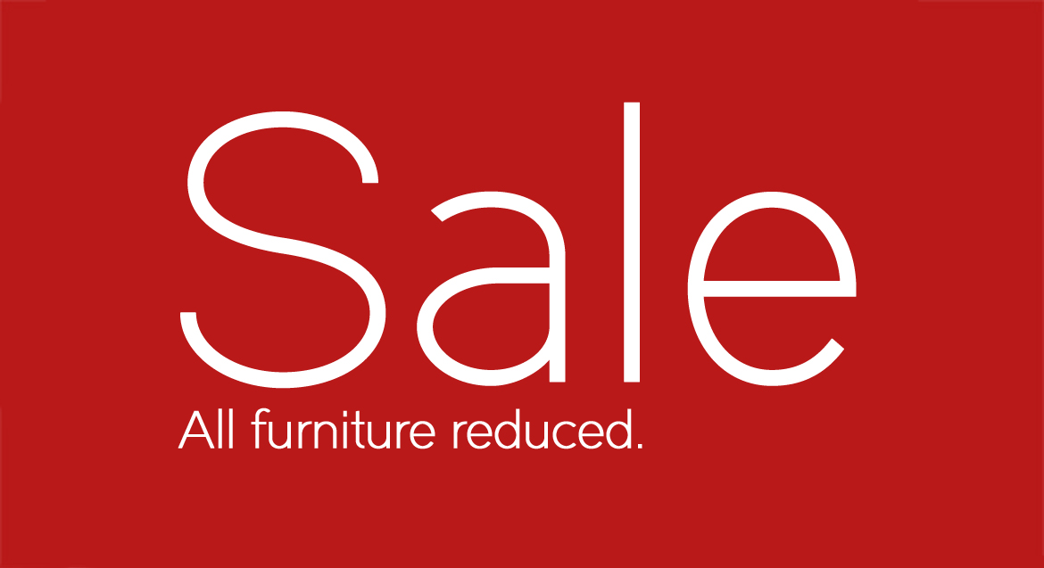 January sale - All furniture reduced