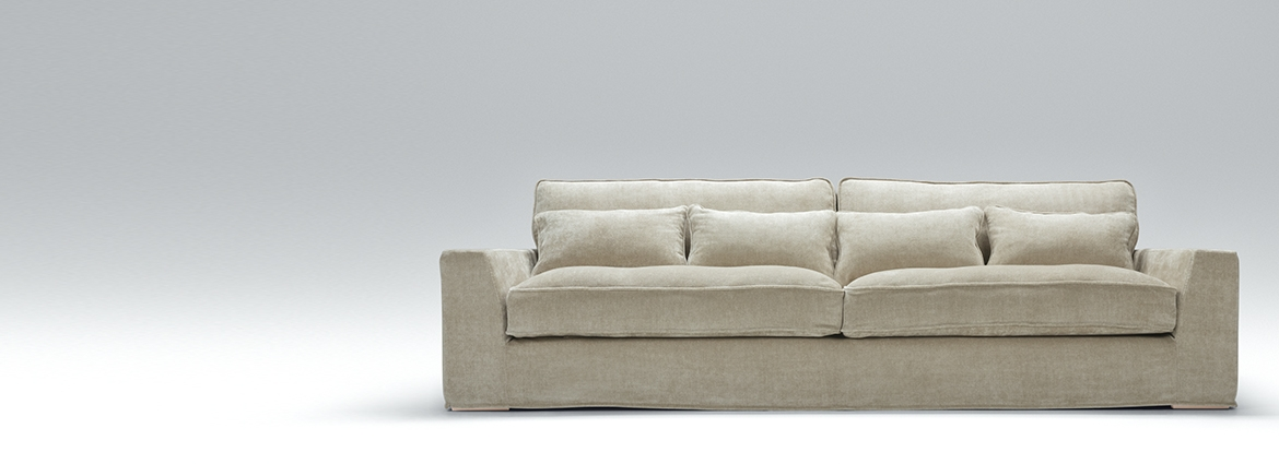 Large 4 Seater Sofas | 4 Seater Fabric Sofas | Shop AIF London