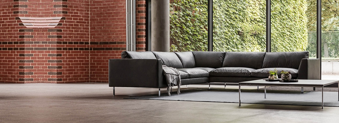 Modern Leather Sofas