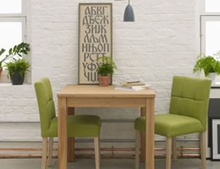 Small Extendable Dining Table Designed By Adventures In Furniture.