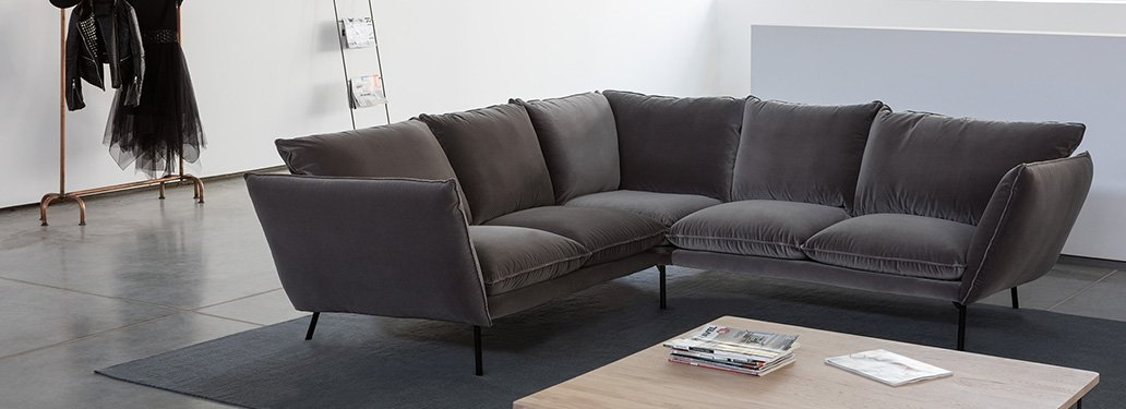 3 Seater Sofa designed By Adventures In Furniture. This Bespoke Sofa Has Endless Fabric Choices To Fit Every Space In Your Home. The modern sofa looks great on any flooring