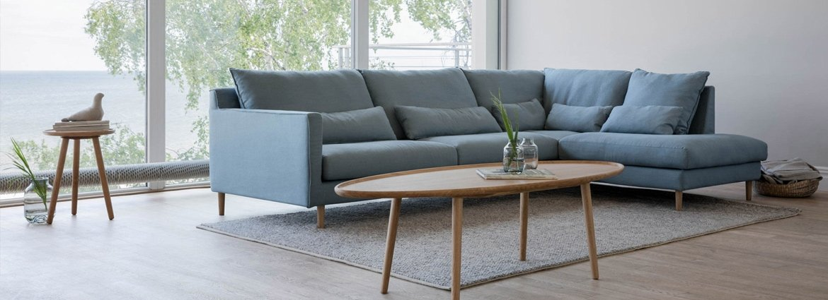 Grey Corner Sofa Designed By Adventures In Furniture. Our Bespoke 5 Seater Corner Sofa Has Endless Fabric Choices To Fit Every Space In Your Home