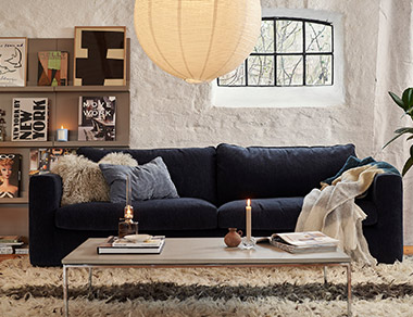 Kiko deep seat sofa