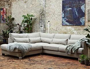 3 Seater Fabric Sofa Designed By Adventures In Furniture. This Modern Fabric Sofa Has Endless Fabric Choices To Fit Every Space In Your Home. The Look Is Complete With Our Solid Oak Coffee Tables