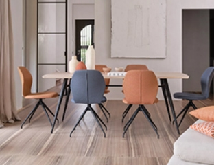 Modern Extending Oak Dining Table By Adventures In Furniture.